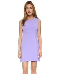 Vestido tubo violeta claro de Diane von Furstenberg