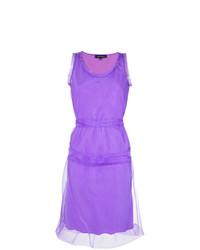 Vestido tubo violeta claro de Gloria Coelho