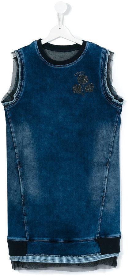 Vestido vaquero azul de Diesel