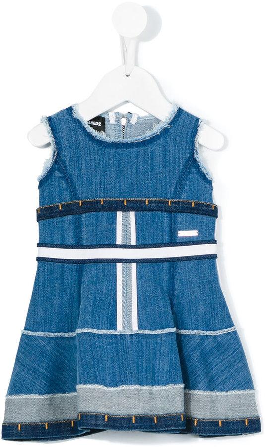 Vestido vaquero azul de DSQUARED2