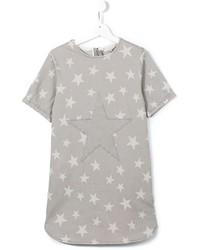 Vestido vaquero de estrellas gris de Stella McCartney