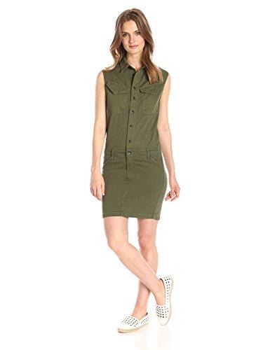 90 Vestido Verde Oliva De G Star