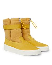 Zapatillas altas amarillas de Fear Of God