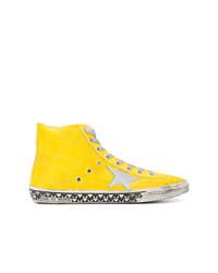 Zapatillas altas amarillas de Golden Goose Deluxe Brand