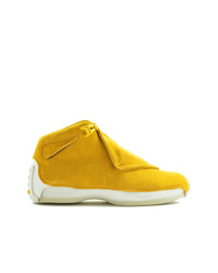 Zapatillas altas amarillas de Jordan