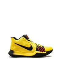 Zapatillas altas amarillas de Nike