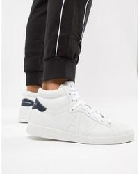 Zapatillas altas blancas de Armani Exchange