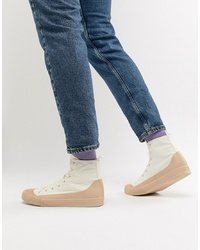 Zapatillas altas blancas de ASOS DESIGN