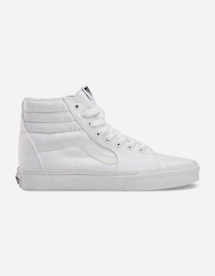 zapatillas vans hombre blancas
