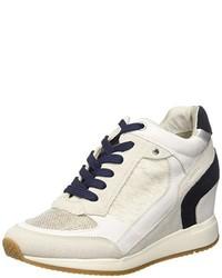 Zapatillas altas blancas de Geox