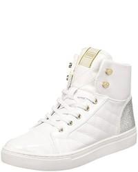 54e950bef0 Comprar unas zapatillas altas blancas GUESS | Moda para Mujeres ...