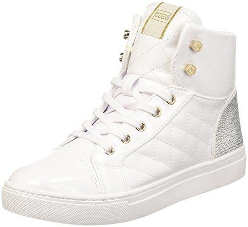 53436d76b7e60 ... Zapatillas altas blancas de GUESS ...