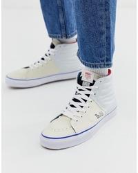 Zapatillas altas blancas de Vans