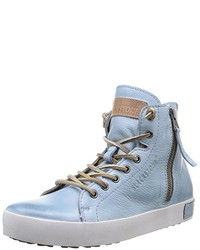 Zapatillas altas celestes de Blackstone