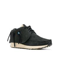 Zapatillas altas de ante en gris oscuro de VISVIM