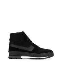 Zapatillas altas de ante negras de Calvin Klein