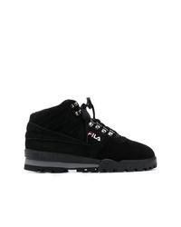 Comprar unas zapatillas altas de ante negras Fila | Outfits