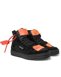 Comprar unas zapatillas altas de ante negras Off White