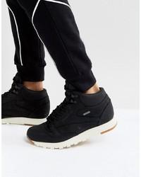 Zapatillas altas de ante negras de Reebok