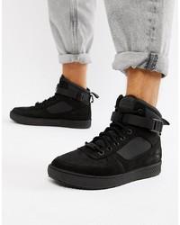 Comprar unas zapatillas altas negras Timberland | Outfits