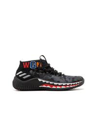 zapatillas adidas negras camuflaje