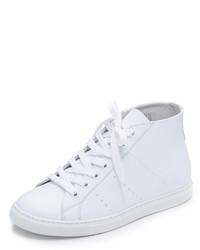Zapatillas altas de cuero blancas de IRO