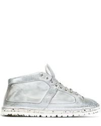 Zapatillas altas de cuero blancas de Marsèll