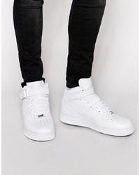 Zapatillas altas de cuero blancas de Nike