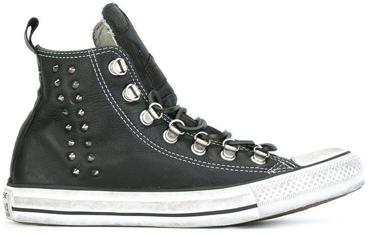 zapatillas converse altas mujer