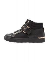 Zapatillas altas de cuero negras de Aldo