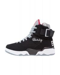 Zapatillas altas de cuero negras de Ewing