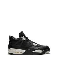 Zapatillas altas de cuero negras de Jordan