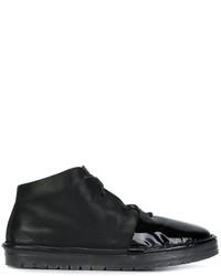 Zapatillas altas de cuero negras de Marsèll