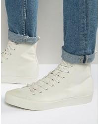 Zapatillas altas de goma grises de Asos