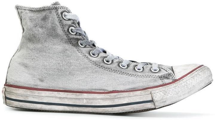 converse altas grises