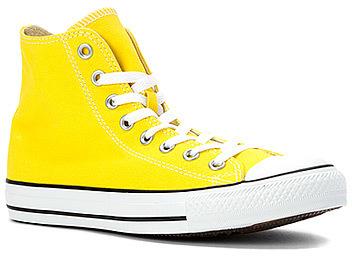 converse hombre amarillas