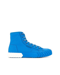 Zapatillas altas de lona azules de Both