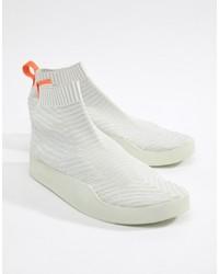 Zapatillas altas de lona blancas de adidas Originals