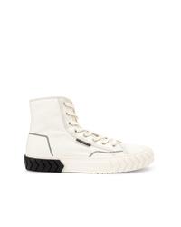 Zapatillas altas de lona blancas de Both