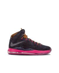 Zapatillas altas de lona en gris oscuro de Nike