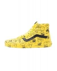 zapatillas vans amarilla