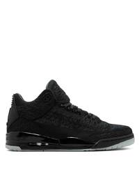 Zapatillas altas de lona negras de Jordan