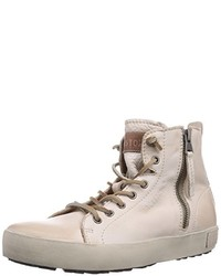 Zapatillas altas en beige de Blackstone