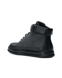 Zapatillas altas en gris oscuro de Camper