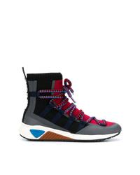 Zapatillas altas en multicolor de Diesel