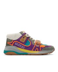 Zapatillas altas en multicolor de Gucci