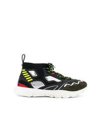 Zapatillas altas en multicolor de Valentino
