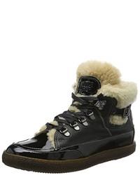 Zapatillas altas negras de Candice Cooper
