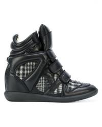 Zapatillas altas negras de Etoile Isabel Marant
