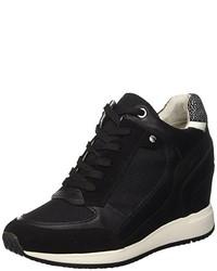 Zapatillas altas negras de Geox